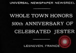 Image of 500th anniversary of Salaun de Foll Lesneven France, 1930, second 7 stock footage video 65675069016