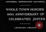 Image of 500th anniversary of Salaun de Foll Lesneven France, 1930, second 10 stock footage video 65675069016