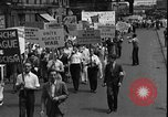 Image of protest against war New York United States USA, 1935, second 6 stock footage video 65675069019