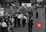 Image of protest against war New York United States USA, 1935, second 7 stock footage video 65675069019