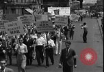 Image of protest against war New York United States USA, 1935, second 8 stock footage video 65675069019