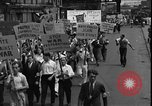 Image of protest against war New York United States USA, 1935, second 9 stock footage video 65675069019