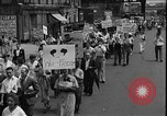 Image of protest against war New York United States USA, 1935, second 10 stock footage video 65675069019