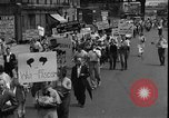 Image of protest against war New York United States USA, 1935, second 11 stock footage video 65675069019
