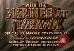Image of US 2nd Marine Division on troop transports Tarawa Gilbert Islands, 1943, second 8 stock footage video 65675069058