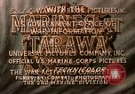Image of US 2nd Marine Division on troop transports Tarawa Gilbert Islands, 1943, second 11 stock footage video 65675069058