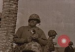 Image of US Marine amphibious assault on Tarawa Tarawa Gilbert Islands, 1943, second 9 stock footage video 65675069060