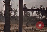 Image of United States Marines mopping up operations Tarawa Gilbert Islands, 1943, second 12 stock footage video 65675069062