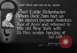 Image of Eddie Rickenbacker New York United States USA, 1918, second 2 stock footage video 65675069079