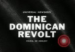 Image of Dominican Revolt Dominican Republic, 1965, second 2 stock footage video 65675069089