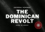 Image of Dominican Revolt Dominican Republic, 1965, second 3 stock footage video 65675069089