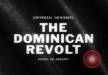 Image of Dominican Revolt Dominican Republic, 1965, second 4 stock footage video 65675069089