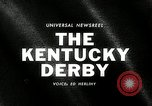 Image of Kentucky Derby Kentucky United States, 1965, second 1 stock footage video 65675069091