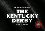 Image of Kentucky Derby Kentucky United States, 1965, second 2 stock footage video 65675069091