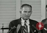 Image of William Fulbright United States USA, 1963, second 9 stock footage video 65675069093