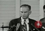 Image of William Fulbright United States USA, 1963, second 10 stock footage video 65675069093