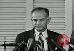 Image of William Fulbright United States USA, 1963, second 12 stock footage video 65675069093