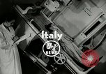 Image of Worlds first motion picture X-Ray Italy, 1953, second 2 stock footage video 65675069098