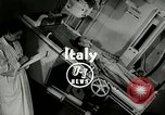 Image of Worlds first motion picture X-Ray Italy, 1953, second 3 stock footage video 65675069098