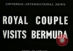 Image of Queen Elizabeth Bermuda Island, 1953, second 5 stock footage video 65675069100
