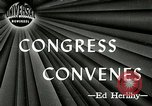 Image of 79th United States Congress Washington DC USA, 1945, second 1 stock footage video 65675069101