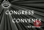Image of 79th United States Congress Washington DC USA, 1945, second 4 stock footage video 65675069101