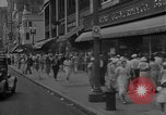 Image of Shoppers in Washington DC in 1930s Washington DC USA, 1936, second 3 stock footage video 65675069105