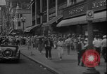 Image of Shoppers in Washington DC in 1930s Washington DC USA, 1936, second 4 stock footage video 65675069105