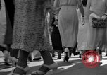 Image of Shoppers in Washington DC in 1930s Washington DC USA, 1936, second 10 stock footage video 65675069105