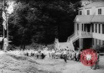Image of vacation camp New Jersey United States USA, 1942, second 5 stock footage video 65675069134