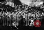 Image of anti-Axis rally Santiago Chile, 1942, second 8 stock footage video 65675069137