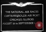 Image of National Air Races Chicago Illinois USA, 1930, second 6 stock footage video 65675069170