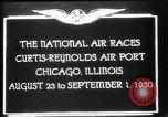 Image of National Air Races Chicago Illinois USA, 1930, second 8 stock footage video 65675069170