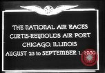 Image of National Air Races Chicago Illinois USA, 1930, second 9 stock footage video 65675069170