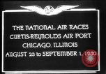 Image of National Air Races Chicago Illinois USA, 1930, second 10 stock footage video 65675069170