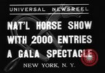 Image of National Horse Show New York United States USA, 1937, second 5 stock footage video 65675069214