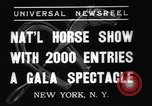 Image of National Horse Show New York United States USA, 1937, second 7 stock footage video 65675069214