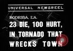Image of tornado Rodessa Louisiana USA, 1938, second 2 stock footage video 65675069220