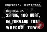 Image of tornado Rodessa Louisiana USA, 1938, second 4 stock footage video 65675069220