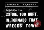 Image of tornado Rodessa Louisiana USA, 1938, second 7 stock footage video 65675069220