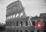 Image of Roman Coliseum Rome Italy, 1938, second 11 stock footage video 65675069222