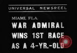 Image of War Admiral Miami Florida USA, 1938, second 6 stock footage video 65675069223
