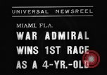 Image of War Admiral Miami Florida USA, 1938, second 7 stock footage video 65675069223