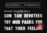 Image of Models and their mud packs Miami Beach Florida USA, 1938, second 2 stock footage video 65675069227