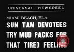 Image of Models and their mud packs Miami Beach Florida USA, 1938, second 3 stock footage video 65675069227