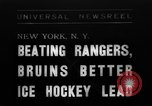 Image of National Ice Hockey League New York United States USA, 1938, second 1 stock footage video 65675069228