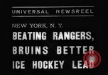 Image of National Ice Hockey League New York United States USA, 1938, second 7 stock footage video 65675069228