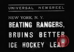 Image of National Ice Hockey League New York United States USA, 1938, second 8 stock footage video 65675069228