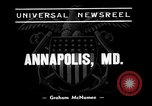 Image of Midshipmen Annapolis Maryland USA, 1938, second 4 stock footage video 65675069236