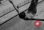 Image of Olympic divers Los Angeles California USA, 1938, second 12 stock footage video 65675069239